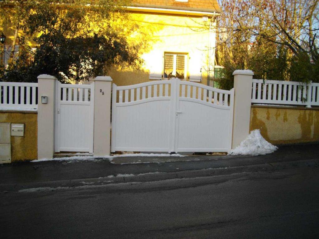 portail blanc