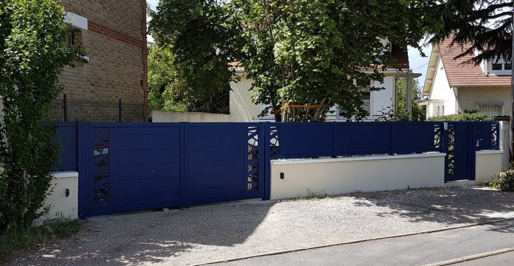 installation portail sartrouville